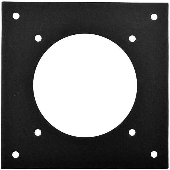 Single 80mm fan mounting plate 120 mm to 80 mm adaptor mount an 80mm fan to 120 mm mount PROCOOL AV-M180
