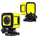 MightySkins Protective Vinyl Skin Decal Cover for GoPro Hero4 Session Camera Digital Camcorder Sticker Skins Solid Yellow