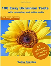 100 Easy Ukrainian Texts: with vocabulary and online audio (for beginners)