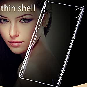 Cell Buddy Ultra Thin Smooth Hard Back Case For Sony Xperia Z 2 L50W C770x Slim Transparent Clear Cover For Sony Xperia Z 3 D6633 L55T --- Color:Clear for Sony Z 2