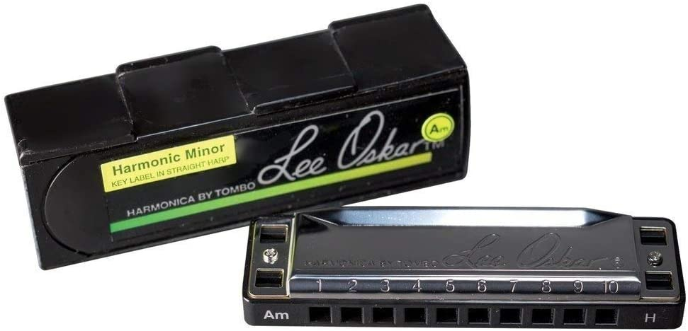 A Lee Oskar 797050 Harmonic Minor Harmonica