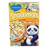 Barbaras Bakery Organic Snackimals Cereal - Cinnamon Crunch - Case of 12 - 9 oz.