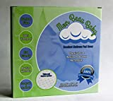 Premium Bamboo Bassinet Pad Cover   Hypoallergenic   Absorbent & Waterproof   Forget Bedbugs  15'' x 30'' fits Oval, Rectangular and HALO Bassinet Pads   Your Nursery Bedding Essential!