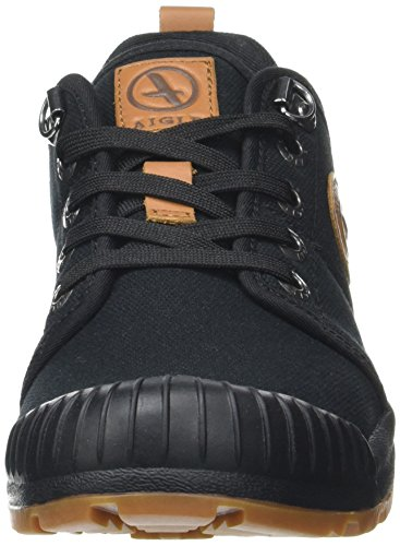 Black Light Tenere Low Basse da Aigle Canvas Arrampicata Scarpe Nero OqTZgZnwz