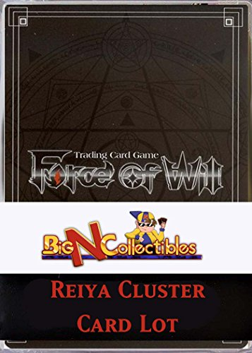 Force of Will TCG 100 Card Lot from REIYA CLUSTER ONLY (ACN, ADK, TSW, WOM) by Yu-Gi-Oh!