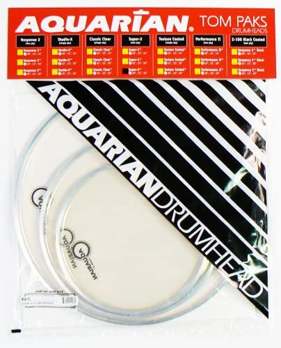 Aquarian Drumheads Drumhead Pack S2-14