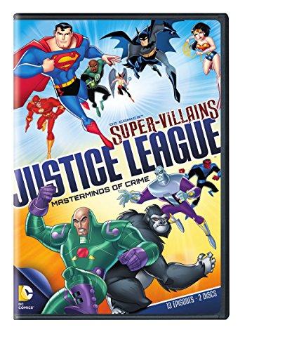 DC Supervillains Justice League: Masterminds of Crime]()