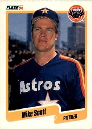 Amazoncom 1990 Fleer Baseball Card 237 Mike Scott Collectibles