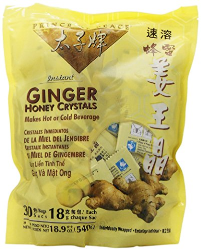 Prince of Peace Ginger Ginger Honey Crystals 30 (0.63 oz.) (a)