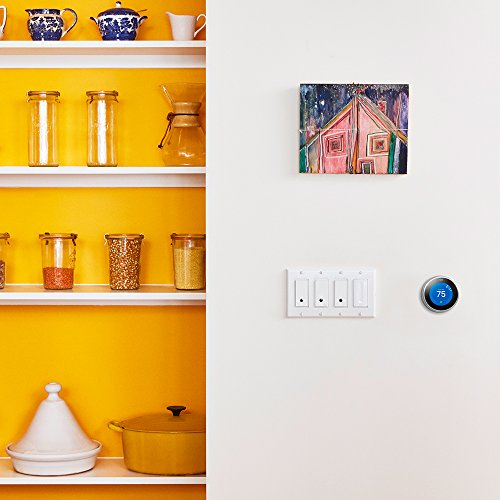 WeMo F7C030-BDL in-Wall Smart Switch, No Hub Required