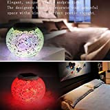 Solar Light Outdoor Decorative, Ideal Gift Color Changing Solar Powered Glass Ball Led Garden Light Outdoor Waterproof 3D Solar Night Light Table Lamps for Indoor Outdoor Decorations