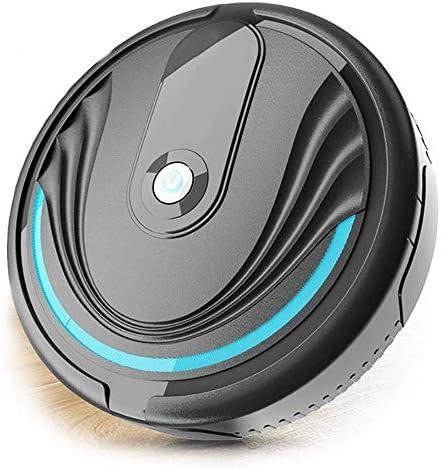 LIUCHANG Robot de Balayage Intelligent, l\'induction Automatique balayeur tournant, Gris-Noir liuchang20
