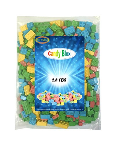 Candy Blox The Original 2.5 Lbs Over 500 Pieces -