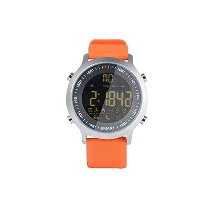 FCGV X18 Sport Reloj Inteligente Impermeable Ip68 5Atm Pasómetro Natación Smartwatch-Orange