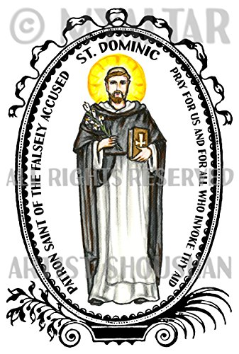 St Dominic Patron Saint of The Falsely Accused 4