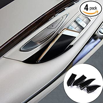 For Mercedes Benz S Class W222 Door Armrest Storage Box Organizer Holder 4pcs