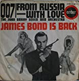 Music From James Bond / Goldfinger, Dr. No, From Russia with Love, and 007.