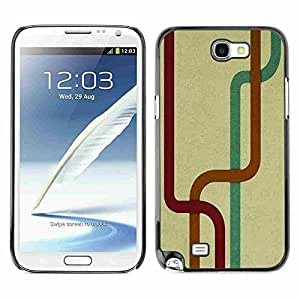 Hu Xiao Shell-Star Snap On Hard protective case cover For Samsung Galaxy Note 2 II / 7AKzc6OUFuZ N7100