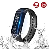 Best fitbit Blood Pressure Monitors - Fitness Tracker, Blood Pressure Smart Bracelet With Heart Review