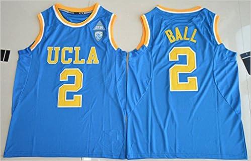 Mens 2017 UCLA Bruins Lonzo Ball  2 College Basketball Jersey Blue L   3875871431768  Amazon.com  Books 110200a32