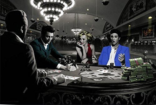 Royal Flush with James Dean Marilyn Monroe Elvis P…