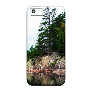 Anti-scratch And Shatterproof Echo Isl Phone Case For Iphone 5c/ High Quality Tpu Case
