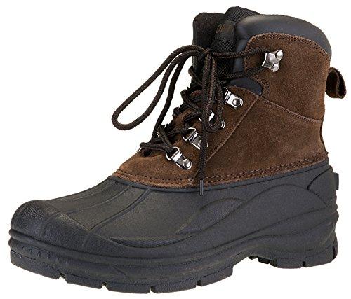 Sporto Mens Ben Impermeabile Inverno Neve E Trekking Lace Up Boot Marrone
