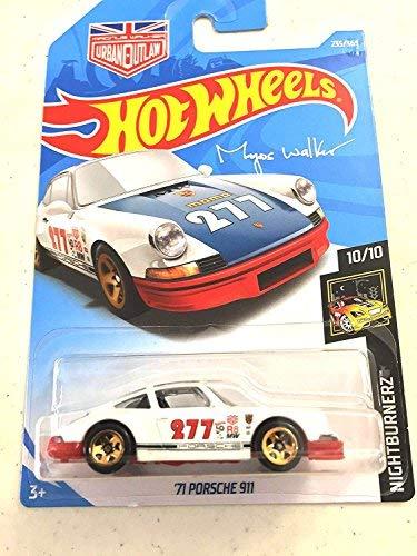 Price comparison product image Hot Wheels 2018 50th Anniversary Nightburnerz Magnus Walker '71 Porsche 911 235/365, White and Red