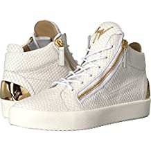 Giuseppe Zanotti Mens May London Heel Plate Mid Top Sneaker