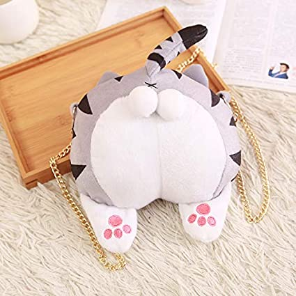 Amazon.com: Sagusi Adorable Moda Chi Gato Butt Bolso de ...