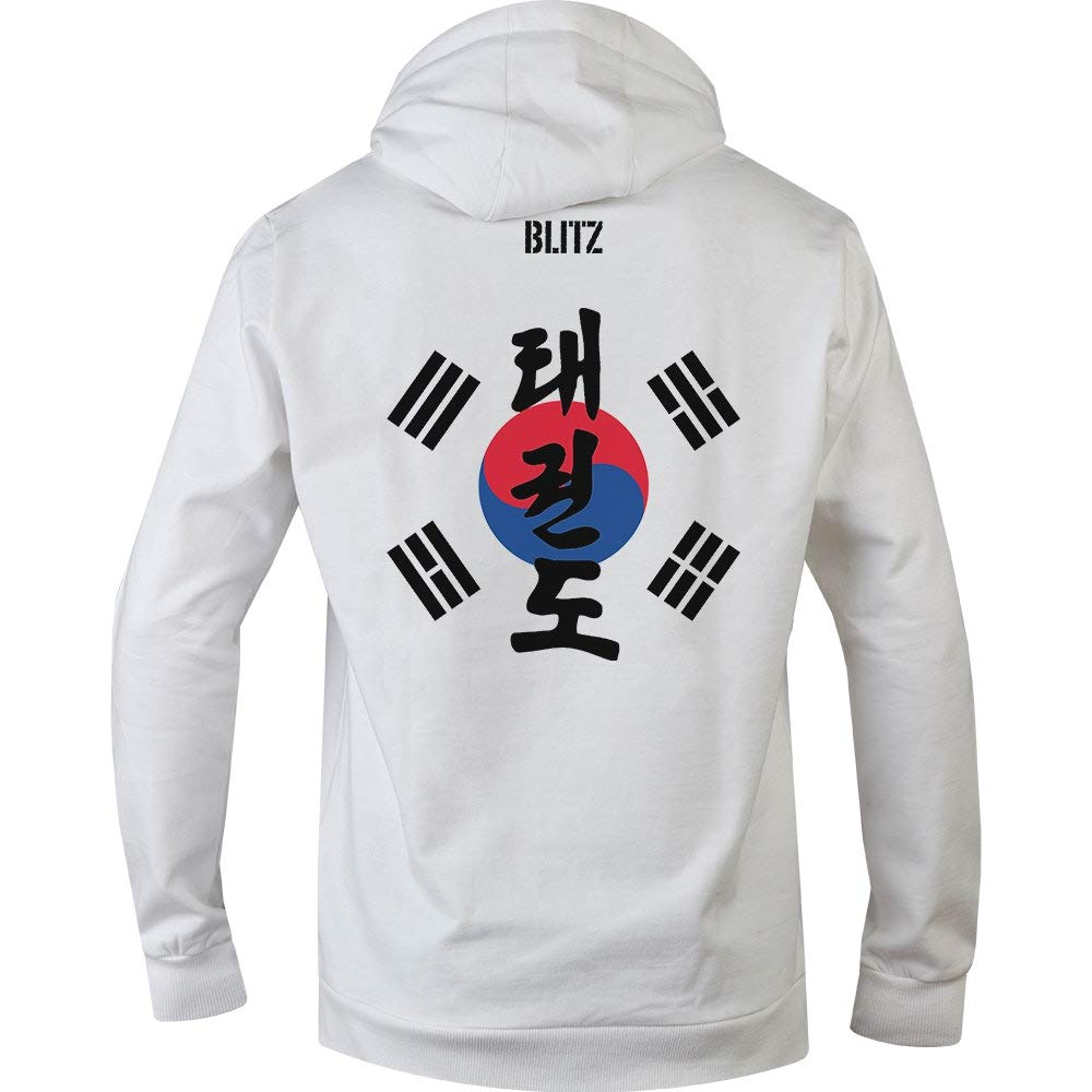 Blitz Taekwondo Sudadera con Capucha para Hombre