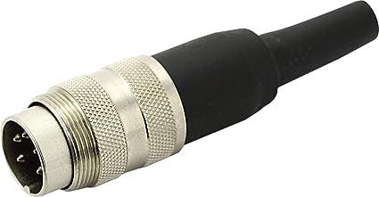 Amphenol NOS Kupplung für 250V Netzspeisung Tuchel Kabel-Buchse T 2261