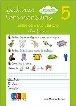 Lecturas Comprensivas 5 - Leo Frases por José Martínez Romero epub
