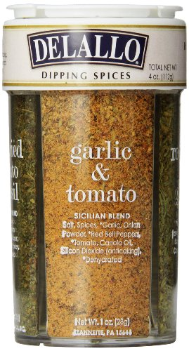 DeLallo Dipping Seasoning Spices, 4 Ounce Unit (Herbs Dipping)
