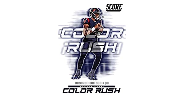 reputable site 8ef72 fd544 Amazon.com: 2018 Score Color Rush #3 Deshaun Watson Houston ...