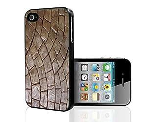 Tan Stones Hard Snap on Phone Case (iPhone 4/4s)