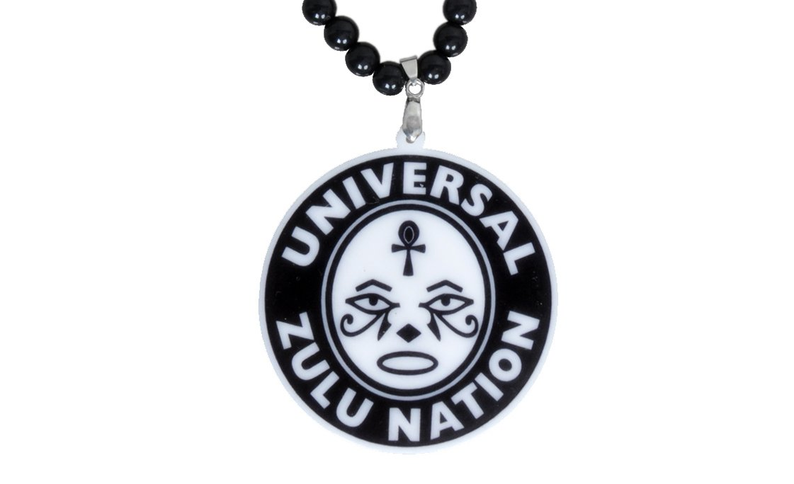 Zulu Nation official wisdom Face pendants , NYC HIPHOP ORIGINAL