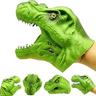 Amazon Com Botrong Dinosaur Animal Hand Puppet Baby Infant
