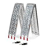Titan 7.5 FT Aluminum Plate Top Ramp 2PK 1,500 LB