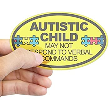 Amazon Com  Special Needs Child Emergency Decal  Non