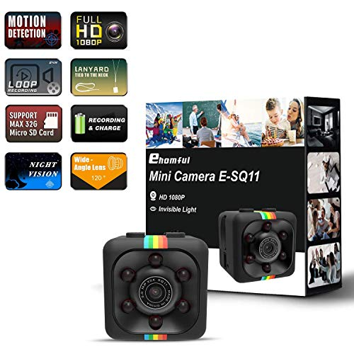 Cheapest Prices! Cop Spy Cam As Seen On TV Mini Camera Wireless Hidden,ehomful 1080P Body Camera Act...