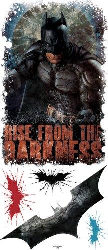 Roommates Rmk1932Gm Batman The Dark Knight Rises Darkness Giant Peel And Stick Wall Art (Batman Rise)