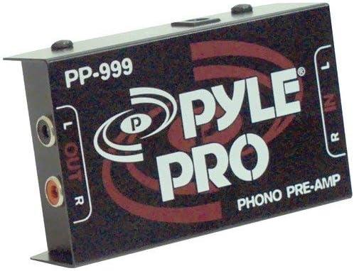 Pyle Pro Pp999 Phono - Preamplificador para Tocadiscos: Amazon.es ...