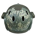DECHO-C Casque Rapide d'Airsoft avec Le Masque de Masque pour l'armée Militaire WarGame Moto Faisant du vélo la Chasse 7