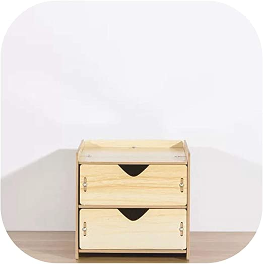 Cajas de madera de almacenamiento Organizador de cajones caja con ...