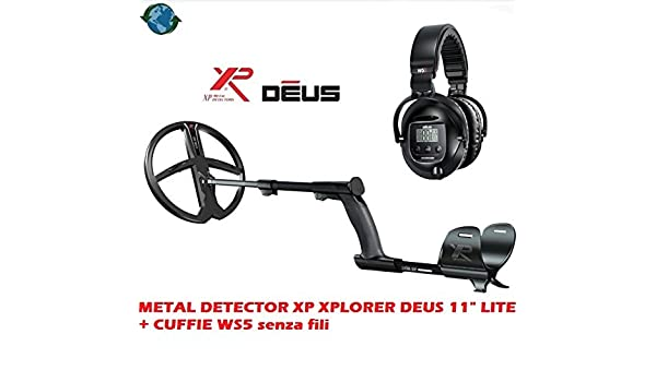 DETECTOR DE METALES XP XPLORER DEUS 11