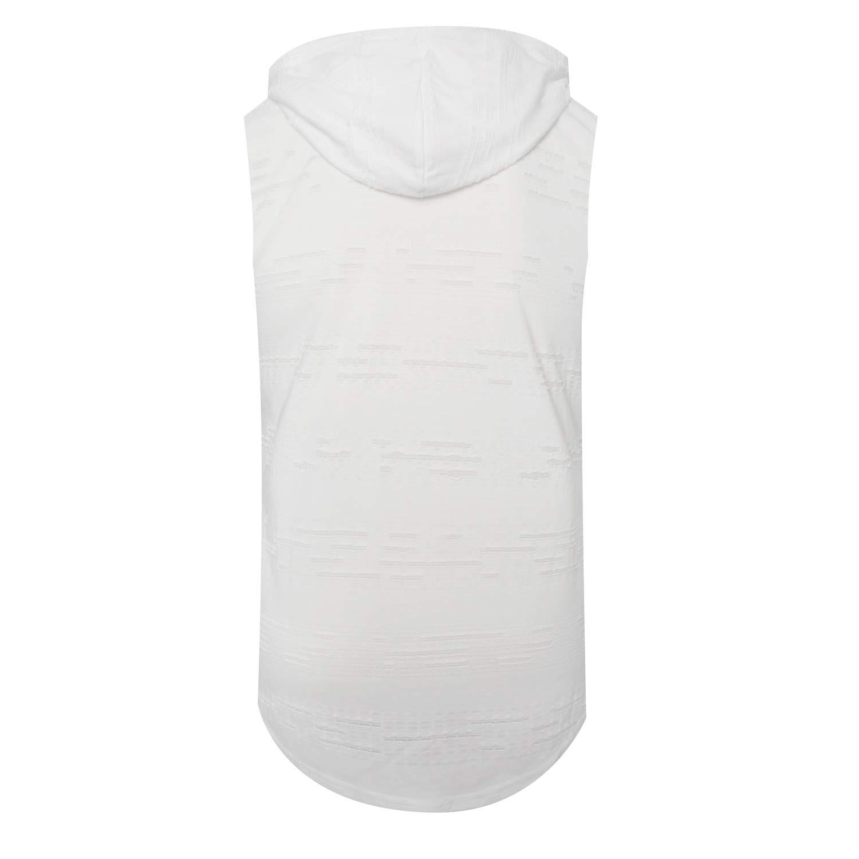 ONTTNO Mens Casual Hipster Hip Hop Sleeveless Gym Hoodie Longline Tank-Top T Shirt Side Zipper