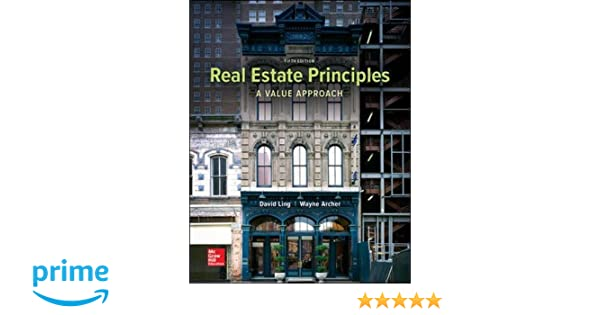 Amazon real estate principles a value approach mchill hill amazon real estate principles a value approach mchill hillirwin series in finance insurance and real estate 9780077836368 david c ling wayne fandeluxe Image collections