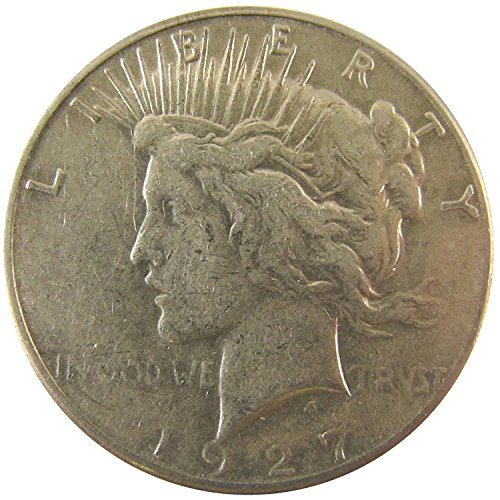 1927 S Peace Dollar $1 Very Fine