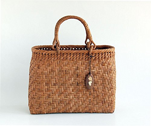 Yamako Mountain Grape Basket Handbag with Inner Cloth 88046 by Yamako (Image #1)